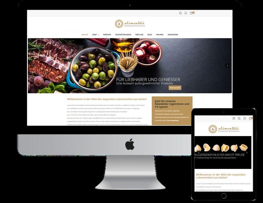 Alimentari Onlineshop