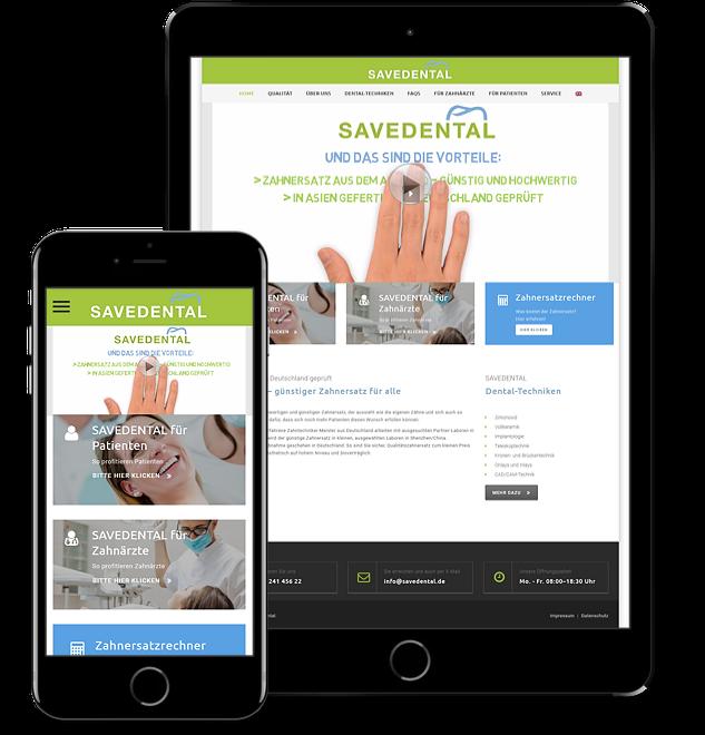 Website SAVEDENTAL